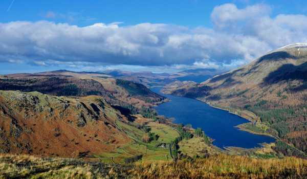 Thirlmere and Mr Gove. Views on a good day for our upland landscapes