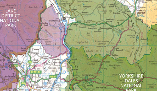 2016: The Lake District and Yorkshire Dales National Parks are extended