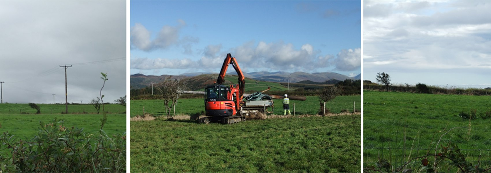 Power Lines Undergrounded at Corney Fell