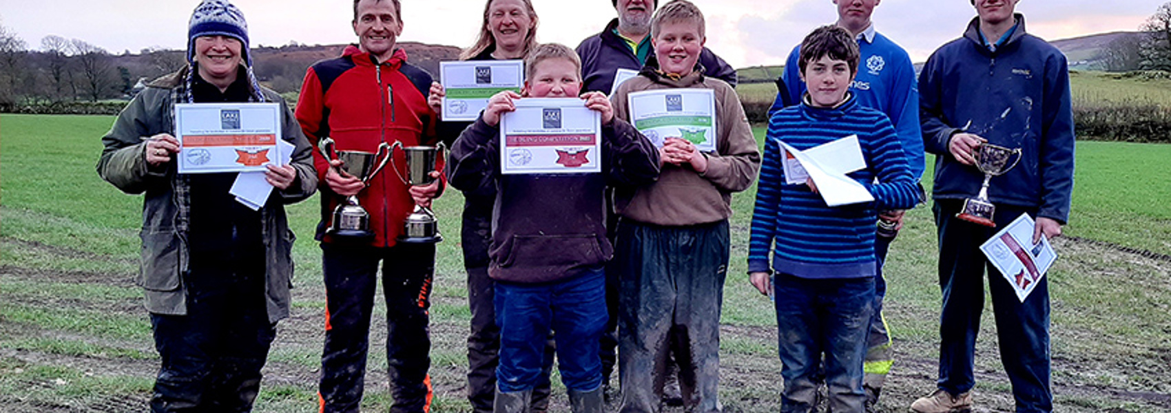 Young Hedge-Layers Pick up Prizes