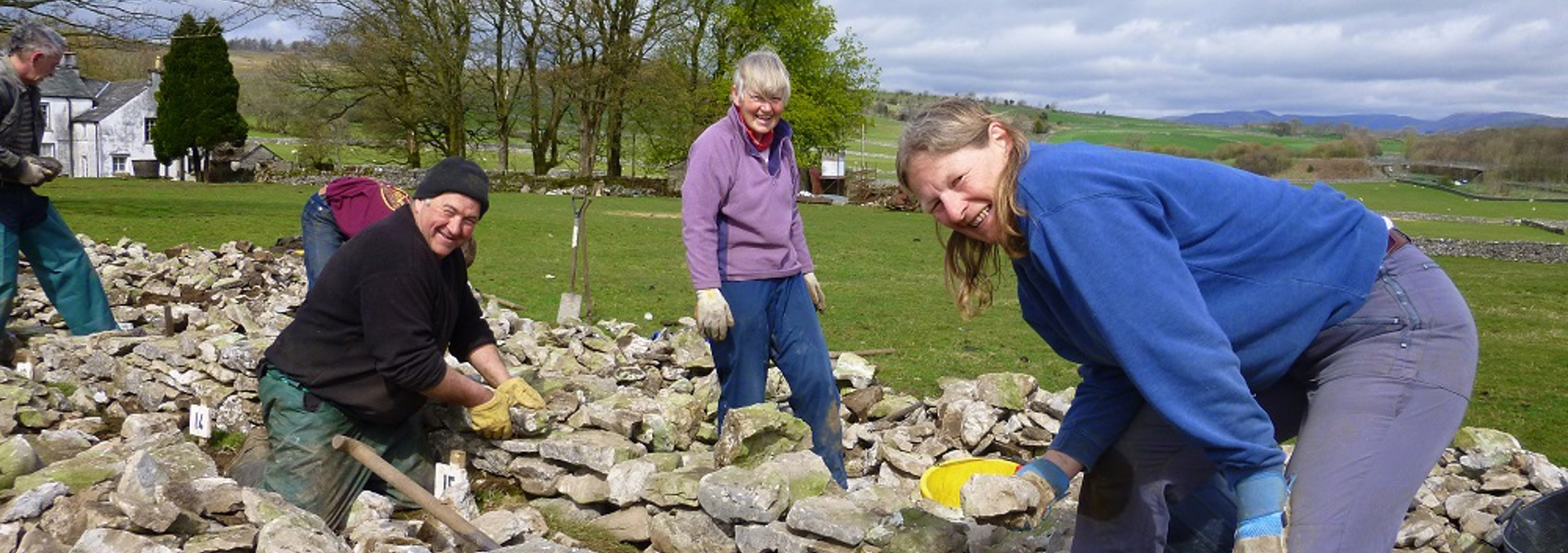 Rural skills to be showcased at Staveley Walling Competition