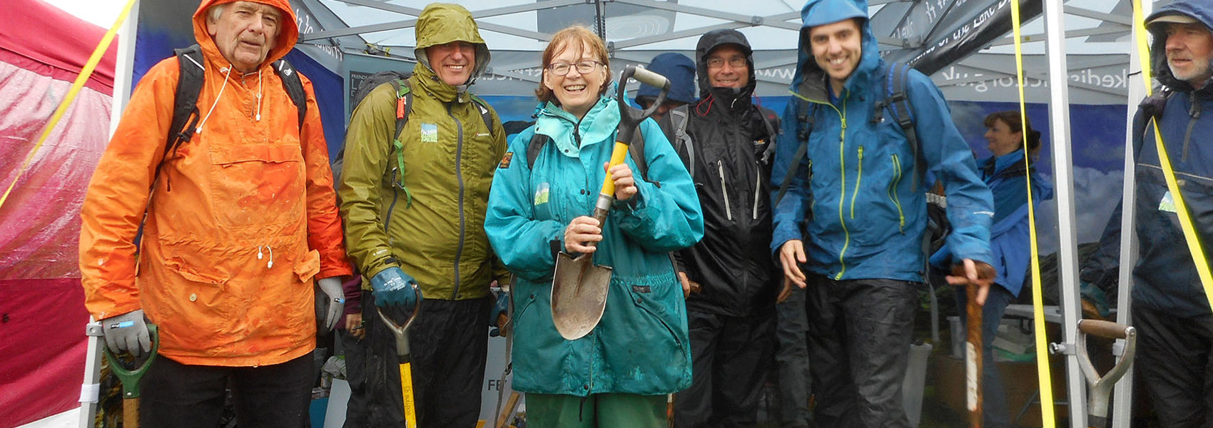 Rain and Gales Couldn't Stop Conservation Volunteers