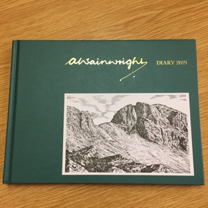 REDUCED Wainwright Diary - £4.50