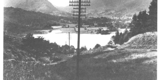 1949: Overhead power lines in national parks are placed underground