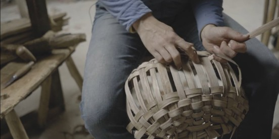 Woodlanders: Oak Swill Basketry Making